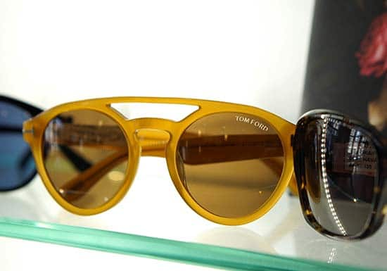 Designer Tom Ford glasses